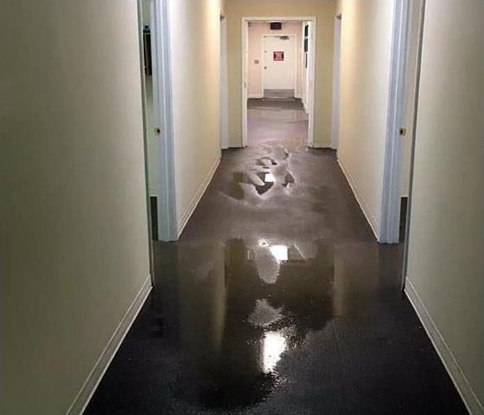 Commercial Water Damage Restoration In Grovetown Before
