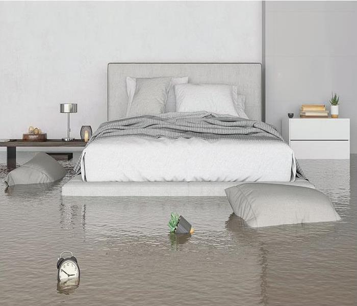 flooding in home after a storm